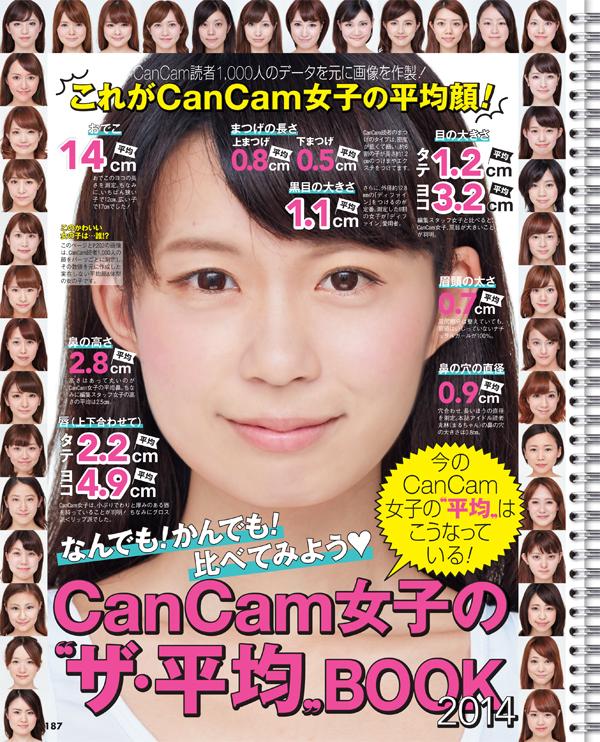 『CanCam』ザ女子の平均ブック