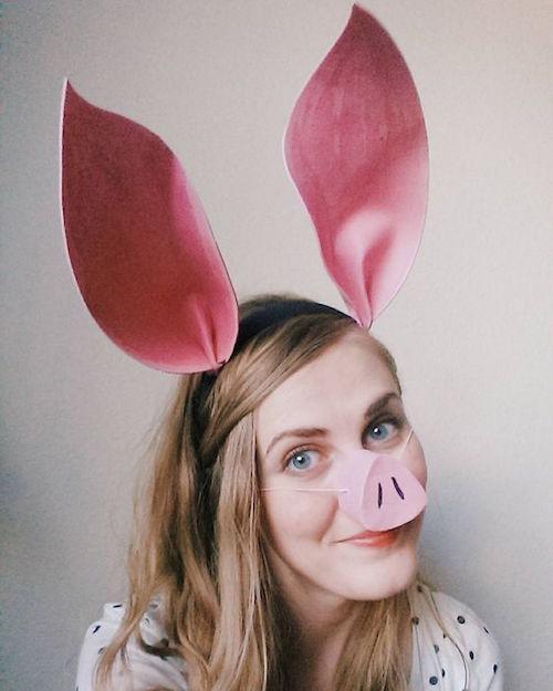団子鼻の人は「豚鼻」と呼ばれてしまうこと