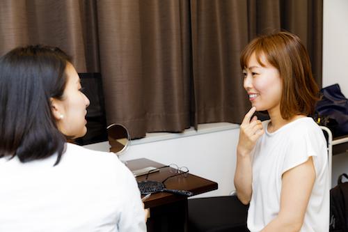 藤井先生のカウンセリング