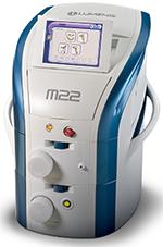 ルミナス社のフォトフェイシャルマシンM22