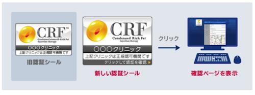 CRF(コンデンスリッチファット)認定クリニック